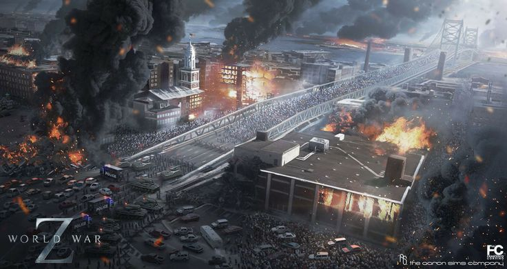 World War Z Game Concept Art