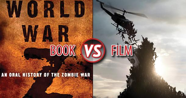world war z, www.nerdatron.com, wwz book vs film